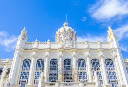 HAVANA, CUBA - JULY 18 : The museum of the revolution in Havana on July 18 2016. The museum is housed in what was the Presidential Palace Editorial