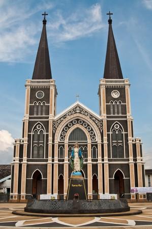 catholic church: Catholic church at Chantaburi province, Thailand.