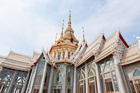Beautiful Thai style church at Nakhonratchasima province, Thailand. Stock Photo - 12461044