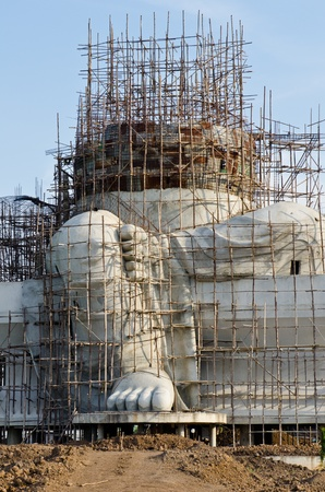 Big ganesha statue under construction, Thailand.