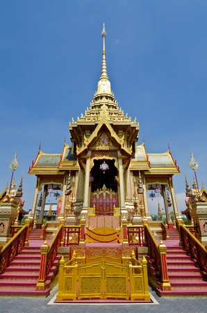 The royal crematorium  Phra Men  in the royal cremation ceremony, Thailand