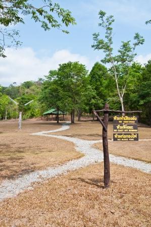 Landscape of Pangsida national park, Thailand. photo