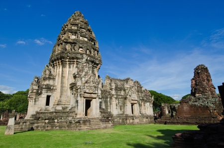 The Principal Tower at Phimai Historical Park, Thailand  photo