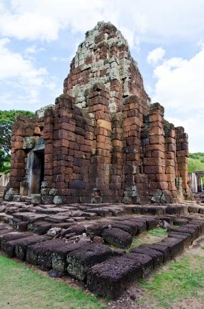 Prang Bhramathat building at Phimai Historical Park, Thailand