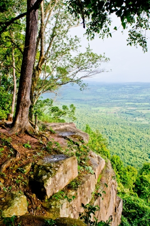 birdeye: View point at Wat Pa Pupasoong temple, Thailand