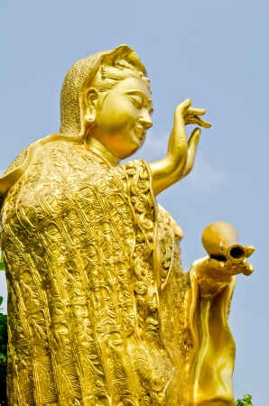 Statue of the Avalokitesvara - Ku (Kuan Yin), Thailand. Stock Photo - 15606119
