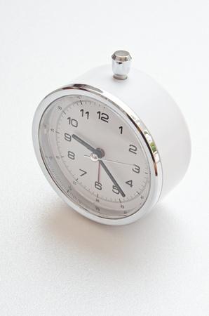 White clock on white screen, Thailand