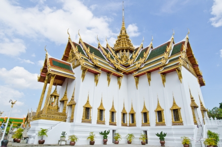 Aphorn Pimok Prasat Hall at Wat Phra Kaew Temple, Thailand  photo