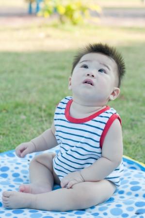 Portrait of asian boy, Thailand Stock Photo - 15836385