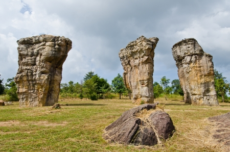 Mor Hin Khao, Thai Style Stone Henge in Thailand. photo
