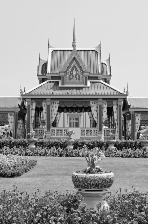 Some building in the royal cremation ceremony, Thailand. photo