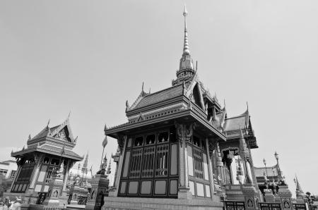 The royal crematorium  Phra Men  in the royal cremation ceremony, Thailand  photo
