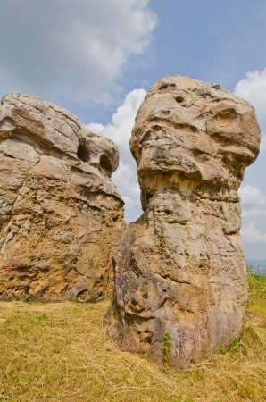 Mor Hin Khao stone park, Thai Style Stone Henge, Thailand.