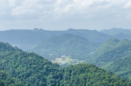 View point at national park, Thailand. photo