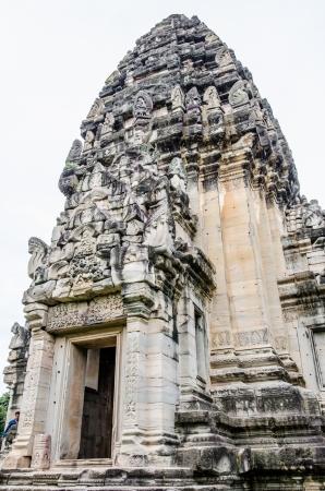 Prasat Hin Pimai pagoda at Phimai historical park, Thailand. Stock Photo - 21983391