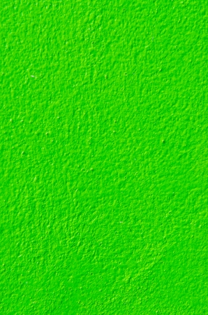 Green colour on block wall, Thailand. photo