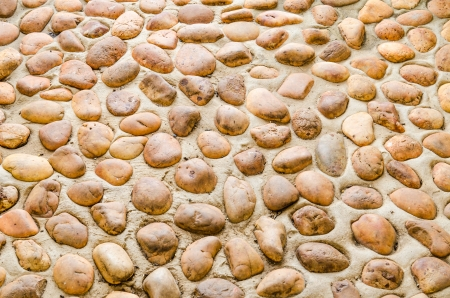 Background of natural gravel floor, Thailand Stock Photo - 22388103