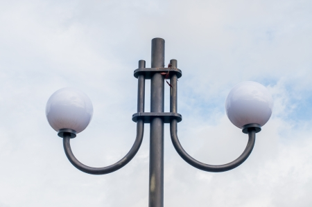 Street light lamp with sky, Thailand Stock Photo - 22388319