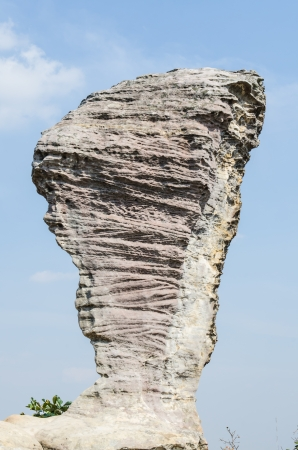 Amazing Shape of Rock at Pa Hin Ngam National Park, Chaiyaphum Province, Thailand photo