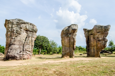Mor Hin Khao, Thai Style Stone Henge, Thailand photo