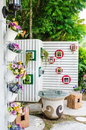 tabique: Bench conjunto con hermosa partici�n, Tailandia