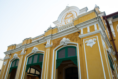 phraya: Phraya Abhaibhubate building, historical building at Prachinburi province, Thailand
