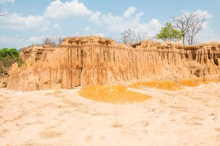 landslip: Lalu park, amazing place at Sakaeo province, Thailand