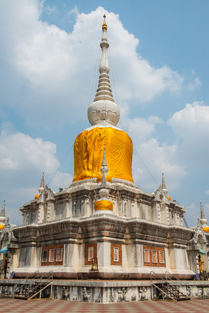 Na Dun pagoda at Maha Sarakham province, Thailand photo