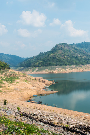 Beautiful landscape of Khundanprakarnchon dam, Thailand Stock Photo - 27078799
