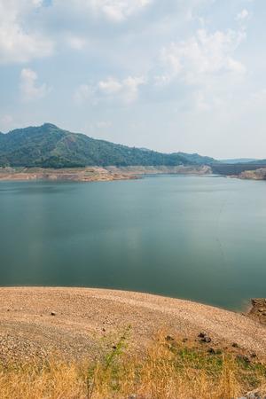 Beautiful landscape of Khundanprakarnchon dam, Thailand Stock Photo - 27078714