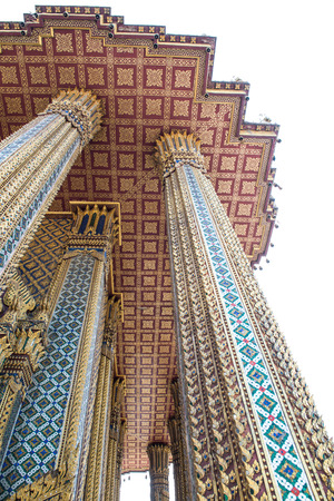 Beautiful church at Phra Phutthabat temple, Thailand photo