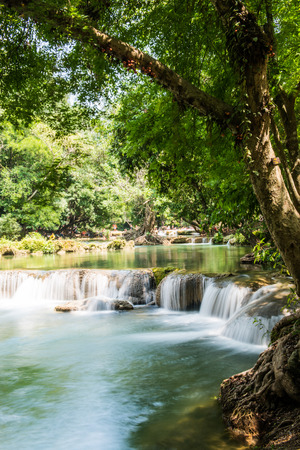 Waterfalll at Num Tok Chet Sao Noi National Park, Thailand photo