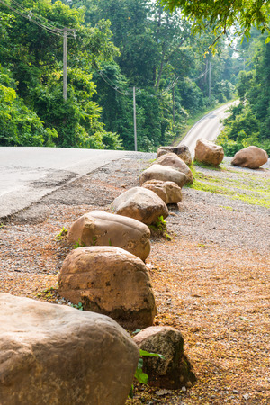 Road in national park, Thailand photo
