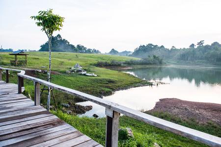 yai: Paesaggio del parco nazionale di Khao Yai, Thailandia Archivio Fotografico