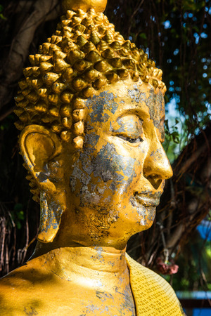 Face of buddha statue, Thailand photo