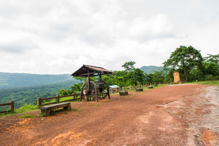 pang: Natural landscape of Pang Sida national park, Thailand