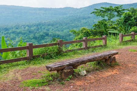 Natural landscape of Pang Sida national park, Thailand photo