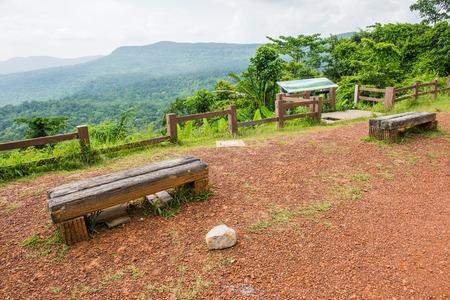 paisaje natural: Paisaje natural del Parque Nacional Pang Sida, Tailandia Foto de archivo