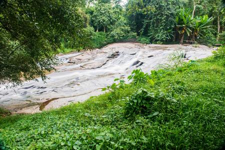 sa: Mae Sa Waterfall, Thailand Stock Photo