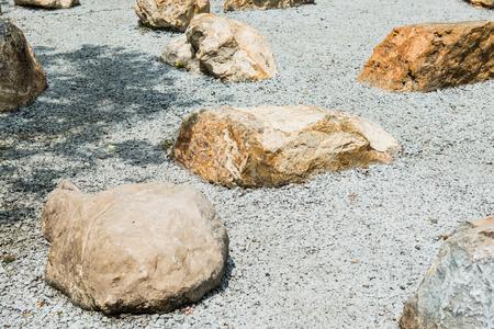 public park: Jard�n de roca en el parque p�blico, Tailandia Foto de archivo