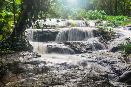 Maesa Noi Waterfall, Thailand photo