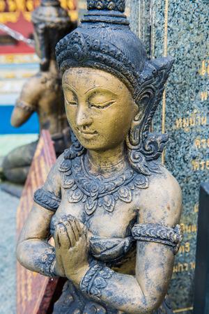 Thai style angel, Thailand Stock Photo