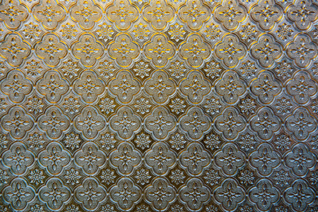 glass panel: Texture of glass panel, Thailand. Stock Photo