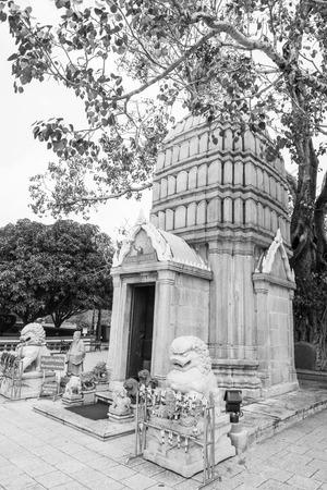 spiritualist: Ho Hem Monthian Thewarat at Bang Pa-In Palace, Thailand.