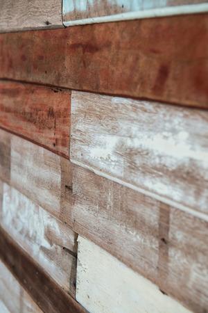pared madera: vieja pared de madera, Tailandia.