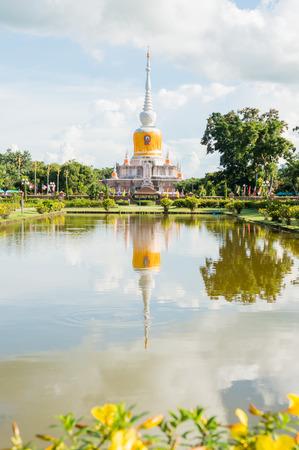 na: Na Dun pagoda at Maha Sarakham province, Thailand