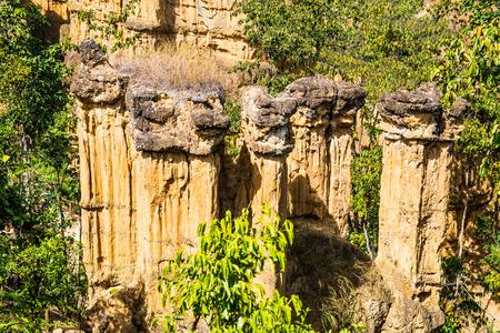 chiangmai province: Phachor, amazing place at Chiangmai province, Thailand.