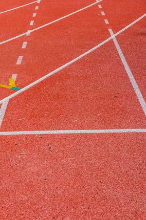 pista de atletismo: Pista de atletismo en tailand�s, Tailandia.