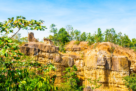Phachor, amazing place at Chiangmai province, Thailand. photo