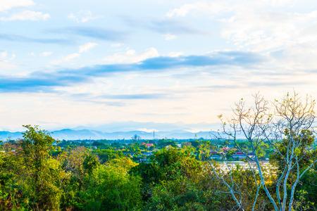 chiangmai province: Morning view at Chiangmai province, Thailand.